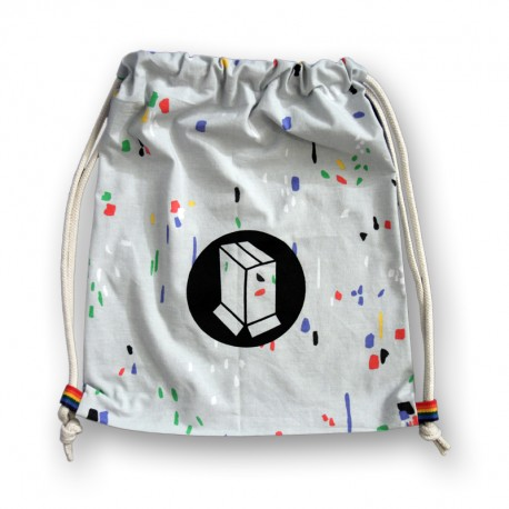 Recycled Drawstring Bag n°23 (modèle unique)